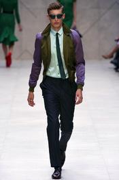 Burberry Prorsum pantalón color hombre