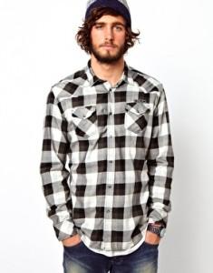 Camisa cuadros II Asos hombre