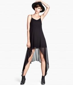 vestido lencero h&m