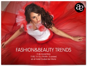 INVITACIÓN FASHION & BEAUTY TRENDS NOVIEMBRE 2014